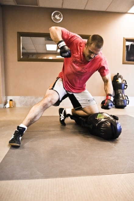 Matt is a fully certified Krav Maga Force Training Instructor. He's also had a number of fights in the cage and is undefeated.